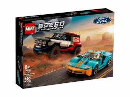 LEGO Speed Champions Ford GT Heritage Edition i Bronco R 76905