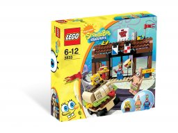 LEGO 3833 Krusty Krab Adventures
