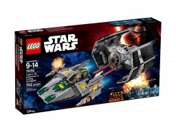 LEGO Star Wars 75150 TIE Advanced kontra myśliwiec A-Wing