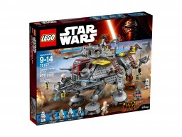 LEGO 75157 Star Wars AT-TE kapitana Rexa