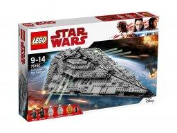 LEGO 75190 Star Wars™ Niszczyciel gwiezdny Najwyższego Porządku™