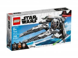 LEGO Star Wars™ TIE Interceptor Czarny As 75242