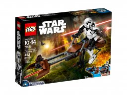 LEGO 75532 Star Wars™ Zwiadowca szturmowców™ i jego śmigacz™