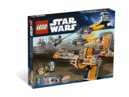 LEGO Star Wars™ Anakin Skywalker and Sebulba's Podracers™ 7962