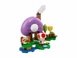 LEGO 77907 Super Mario Rozbudowa kryjówki Toada - zestaw rozszerzający