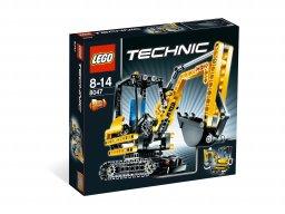 LEGO Technic Mała koparka 8047