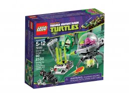 LEGO Teenage Mutant Ninja Turtles™ 79100 Ucieczka z laboratorium Kraanga