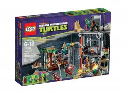 LEGO 79103 Teenage Mutant Ninja Turtles™ Atak na jaskinię żółwi