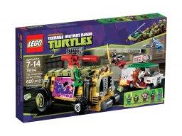 LEGO Teenage Mutant Ninja Turtles™ Pościg uliczny 79104