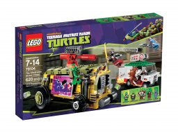 LEGO Teenage Mutant Ninja Turtles™ Pościg uliczny 79104