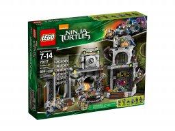 LEGO Teenage Mutant Ninja Turtles™ Inwazja na kryjówkę żółwi 79117