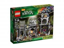 LEGO Teenage Mutant Ninja Turtles™ 79117 Inwazja na kryjówkę żółwi