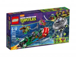 LEGO Teenage Mutant Ninja Turtles™ 79120 Podniebne uderzenie