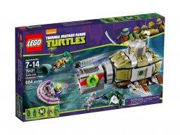 LEGO Teenage Mutant Ninja Turtles 79121 Pościg łodzią podwodną
