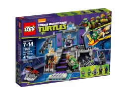 LEGO Teenage Mutant Ninja Turtles™ Ratunek z kryjówki Shreddera 79122