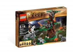 LEGO The Hobbit™ 79002 Atak wargów