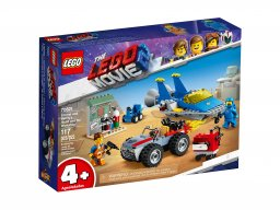 LEGO THE LEGO® MOVIE 2™ 70821 Warsztat Emmeta i Benka