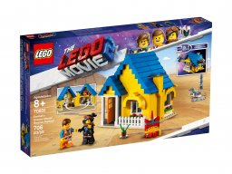 LEGO 70831 THE LEGO® MOVIE 2™ Dom Emmeta/Rakieta ratunkowa