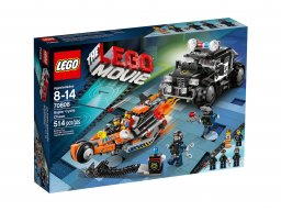 LEGO THE LEGO® MOVIE™ Wyścig superpojazdów 70808
