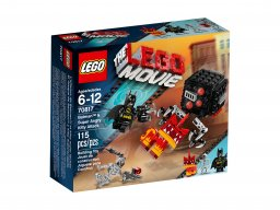 Lego 70817 THE LEGO® MOVIE™ Batman™ & Super Angry Kitty Attack
