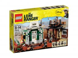 LEGO 79109 The Lone Ranger™ Pojedynek w Colby City