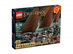 LEGO 79008 The Lord of the Rings Zasadzka na statku pirackim