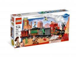 LEGO Toy Story™ Pościg za pociągiem na Dzikim Zachodzie 7597