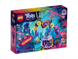 LEGO 41250 Trolls World Tour Impreza techno na rafie