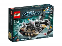 LEGO Ultra Agents 70161 Pojazd gąsienicowy