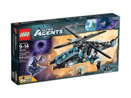 LEGO Ultra Agents UltraCopter vs. AntiMatter