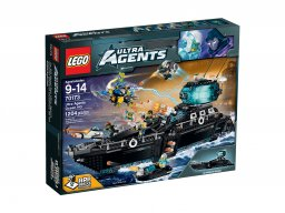 LEGO Ultra Agents 70173 Ultra Agents Ocean HQ