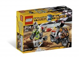 LEGO World Racers Wężowy kanion 8896