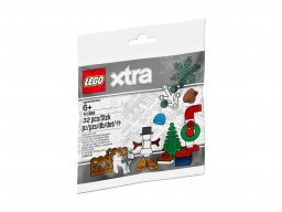 LEGO xtra 40368 Świąteczne akcesoria