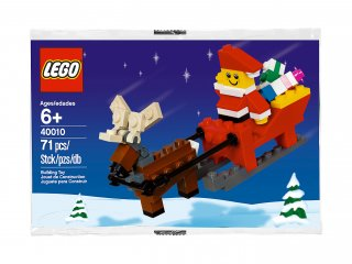 LEGO 40010 Santa with Sleigh