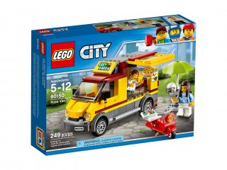 LEGO 60150 City Foodtruck z pizzą
