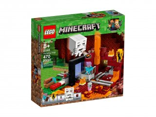 LEGO Minecraft™ Portal do Netheru