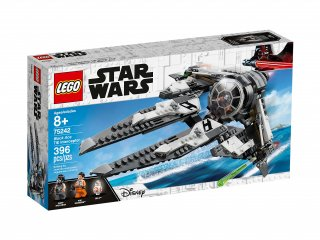 LEGO Star Wars™ TIE Interceptor Czarny As