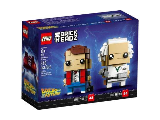 Opakowanie klocków Lego BrickHeadz Marty McFly & Doc Brown