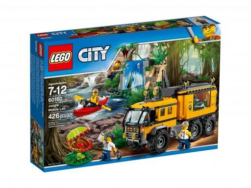 Opakowanie klocków Lego 60160 Mobilne laboratorium