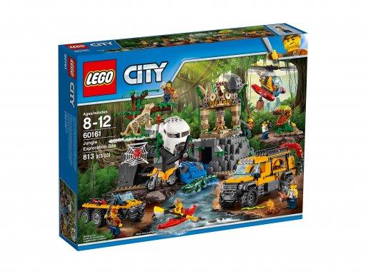 Opakowanie zestawu Lego 60161 Baza w dżungli