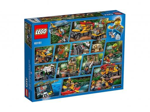 Opakowanie zestawu klocków Lego 60161 Baza w dżungli