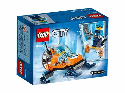 Opakowanie klocków Lego City Arktyczny ślizgacz 60190