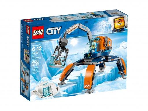 Opakowanie zestawu klocków Lego 60192 City Arktyczny łazik lodowy