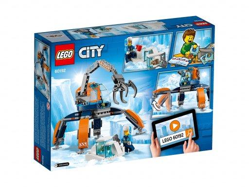 Opakowanie zestawu Lego 60192 Arktyczny łazik lodowy