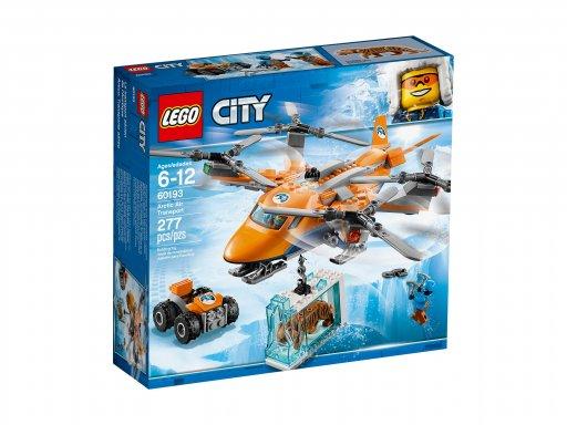 Opakowanie klocków Lego City Arktyczny transport powietrzny 60193