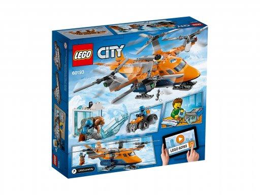 Opakowanie zestawu klocków Lego 60193 Arktyczny transport powietrzny