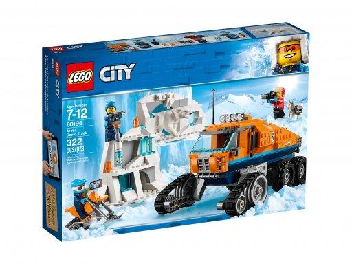 Opakowanie klocków Lego City Arktyczna terenówka zwiadowcza