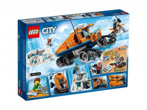 Opakowanie zestawu klocków Lego 60194 Arktyczna terenówka zwiadowcza