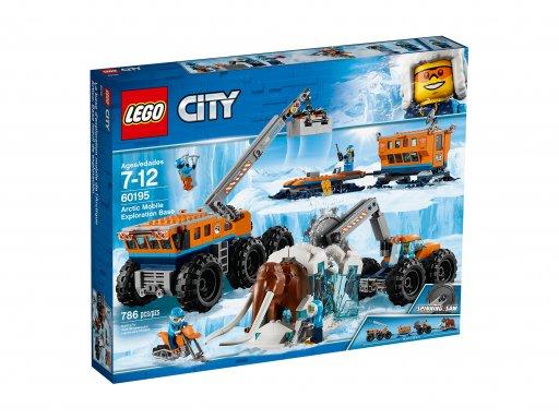 Opakowanie klocków Lego 60195 Arktyczna baza mobilna