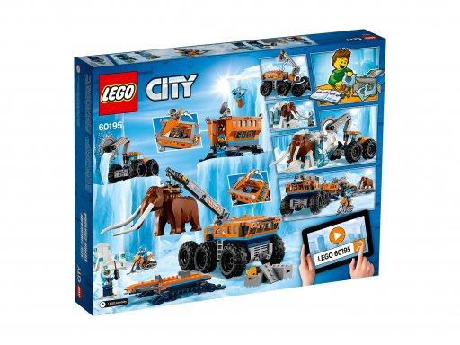 Opakowanie klocków Lego City Arktyczna baza mobilna 60195